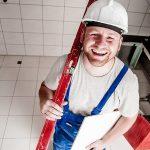 Dobra poziomica dla pracowników budowlanych.